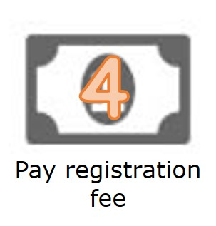 pay registration fee