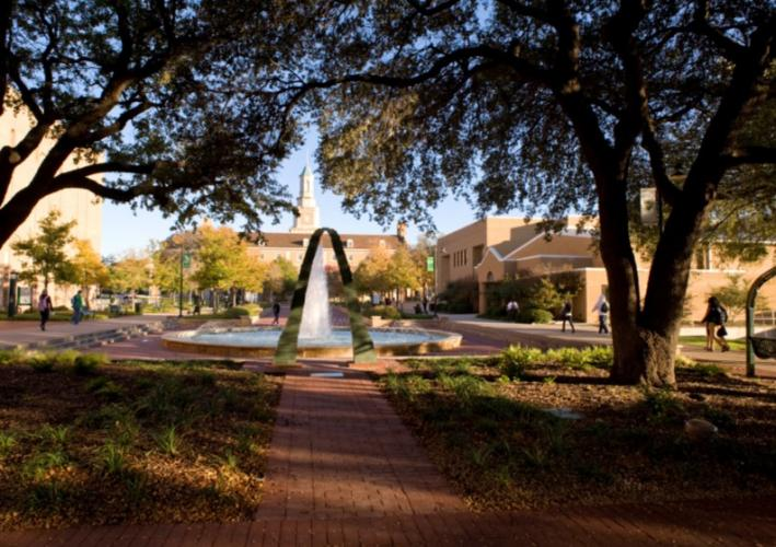 UNT Library Mall